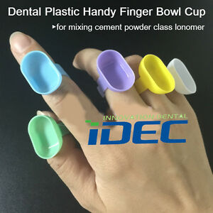 Dental Handy Finger Bowl Cup Cement Mixing Cup Dappen Dish Prophy 1000pcs
