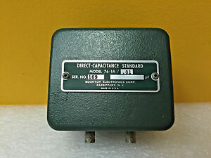 Boonton 76 1a 0 01 Pf Bnc f Direct Capacitance Standard For 76a Bridge