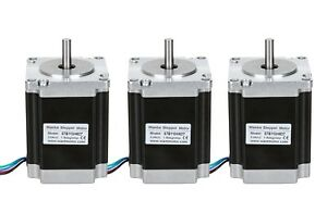 worldwide Wantai 3pcs Nema23 Stepper Motor 1 9n m 3v 3a Hot Sell Cnc Kit