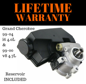 New Power Steering Pump 20 61607 Fits 99 04 Grand Cherokee 4 0l