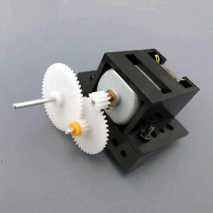 Geared Motors Reduction Gear Box Diy Small Technology Making Handmade Toys C1a