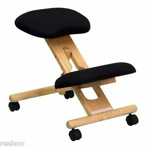 New Kneeling Chair Ergonomic Office Furniture Back Knee Desk Posture Seat Mobile