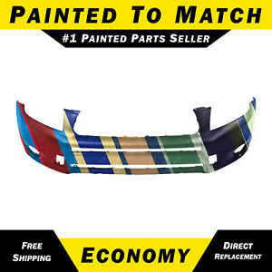New Painted To Match Front Bumper Cover For 2006 2007 2008 Toyota Rav4