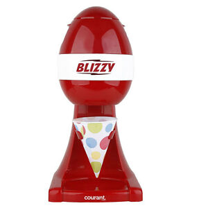 Courant Snow Cone Maker Festive Red