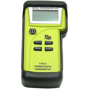 Tpi 343c3 Dual Input K type Thermocouple Thermometer With Gk13m And Ck21m Probes