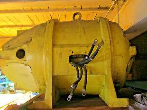 Crane Duty 60hp Electric Motor Westinghouse Double Shaft
