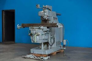 12 X 56 Table Kearney Trecker K t Horizontal Vertical Metal Milling Machine