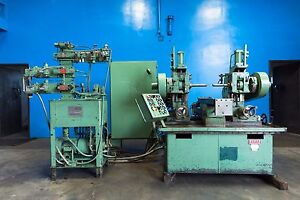 Burke Powermatic Duplex Twin Spindle Horizontal Production Mill 10 X 36 7395