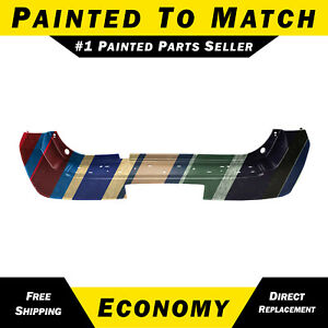 New Painted To Match Rear Bumper Cover For 2005 2006 2007 Nissan Pathfinder Suv