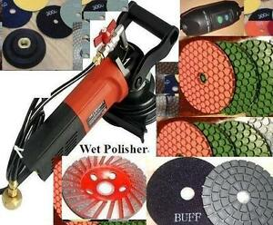 Wet Concrete Sander Ultra Thick Polishing Abrasive Pad Ginding Cup Granite Stone