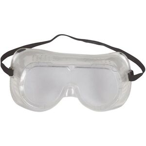 case Of 12 Eye Protection Protective Clear Goggles Glasses Vented Safety