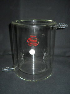 Wilmad Lab Glass 1000ml 1l Jacketed Beaker Chipped