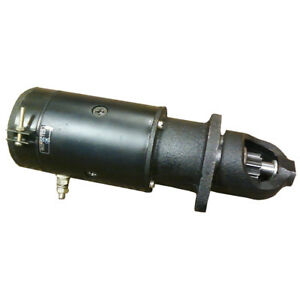 25518 25519 Starter 6 Volt For Massey Ferguson To20 To30 9 Tooth