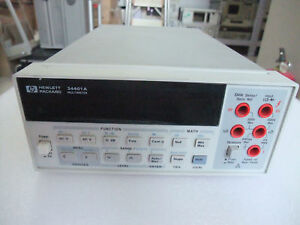 Agilent Hp Keysight 34401a Digital Multimeter 6 5 Digit Tested