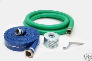 2 Pvc Water Suction And Water Discharge Hose Kit