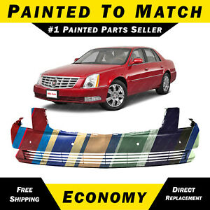 New Painted To Match Front Bumper Cover Replacement For 2006 2011 Cadillac Dts