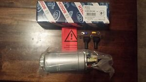 Genuine Bosch 044 Inline External Fuel Pump 300lph 180 Day Warranty 0580254044