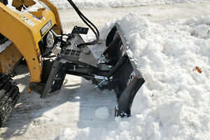 Hydraulic Angle Snow Blade Attachment For Skid Steer 96 Ffc