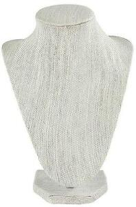 New Darice 2025 439 Necklace Stand Display In Linen Finish 8 5 inch