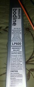 Lof Of 2 Bodine Emergency Lighting Electronic Ballast 120 277 Volts Lp600
