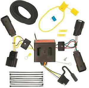 Trailer Wiring Harness Kit For 17 18 Ford Escape All Styles 4 flat Plug Play