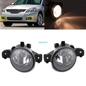 Fog Light Driving Passenger Lamp W Bulb For Nissan Altima Maxima Rogue Sentra