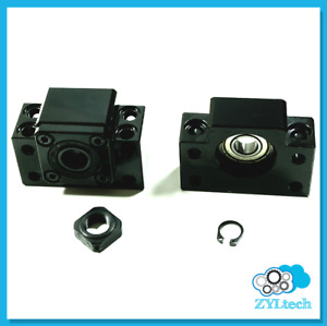 Bf12 Bk12 End Support Bearing Blocks For 1605 Ball Screw
