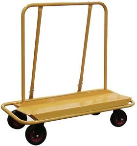 Drywall Cart Dolly Panel Drywall Plywood Ceiling Rolling Wheels 3000 Lb Load