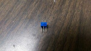 Vishay 100 Ohm 20 Ohm Trimmer Potentiometer Cermet Lot Of 50
