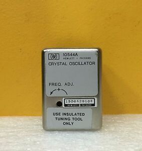 Hp agilent 10544a 10 000 Mhz High stability Quartz Crystal Oscillator Tested