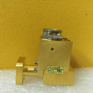 Boonton 51236 25 Millitech Prs 28 5002i 40 Ghz Waveguide Power Sensor New