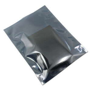 15x20cm Anti static Shielding Open Bag Plastic Package Pouch For 3 5 Hard Drive