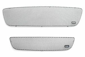 2001 2003 Ford Ranger Xl Xlt Grillcraft Silver 2 Pc Grille Set Mx Series Grills