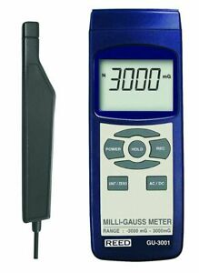 Reed Gu 3001 Electromagnetic Field Meter Emf Milli gauss 3000mg To 3000mg Ac dc