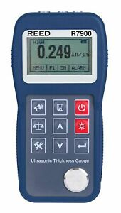 Reed Instruments R7900 Ultrasonic Thickness Gauge 0 65 To 400 0mm