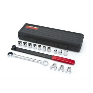 Gearwrench 3680 15 Pc Ratcheting Serpentine Belt Tool Set