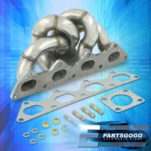 For 95 99 Mitsubishi Eclipse Talon 4g63 Stainless Td05 Header Turbo Manifold Kit