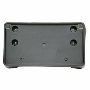 Dat Auto Parts Premium Front License Plate Bracket Tag Holder Textured Black