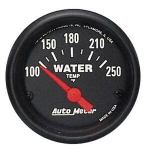 Auto Meter 2635 Z Series Electric Water Temperature Gauge