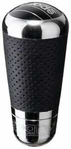 Sparco 03747ptn Techno Perf Leather Shift Knob