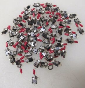 70 Three Position 1 5 Amp 250v Toggle Switches 3 Position A5340