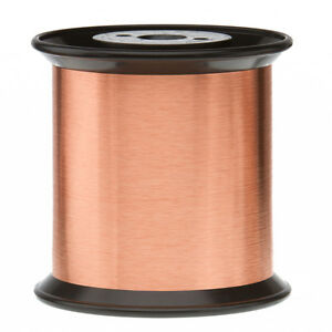 42 5 Awg Gauge Enameled Copper Magnet Wire 5 0 Lbs 0 0025 155c Natural Mw 79 c
