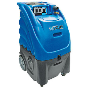230 Volt Heated 500 Psi Dual 3 Stage Sandia Carpet Cleaning Extractor Machine