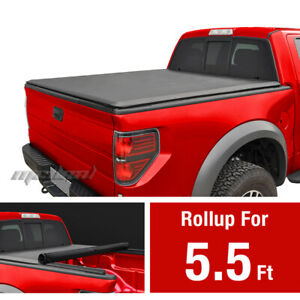 Premium Roll Up Tonneau Cover For 2015 2019 Ford F 150 5 5 Bed
