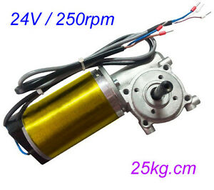 Gw63100 Automatic Door Motor Brushed Dc Worm Wheel Geared With Encoder Motor
