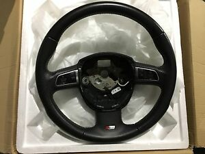 Audi S Line Perforated Leather Sport Steering Wheel