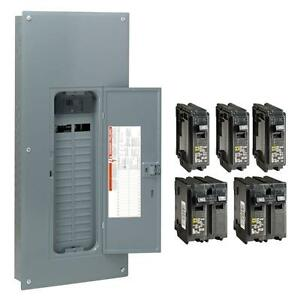 Square d 150 amp 30 space 60 circuit Indoor Main breaker Panel Box Load center