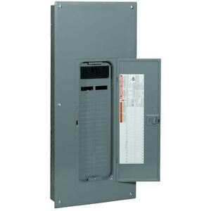Square d Q0 200 amp 42 space circuit Indoor Main breaker Box Panel Load center