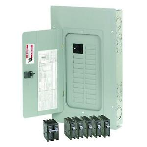 Eaton 100 amp 20 space Circuit Br Main breaker Box Indoor Home Electrical panel