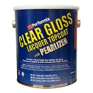 Performix Plasti Dip Ready To Spray 1 Gallon Of Pearlizer Rubber Dip Clear Gloss